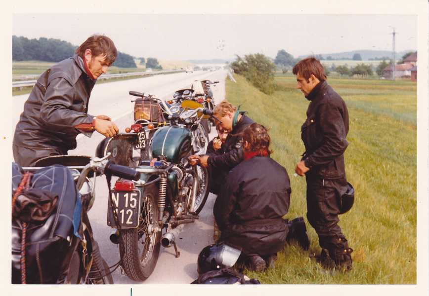 6.9.1973 Rallye Wien-Erlangen, Platz 1