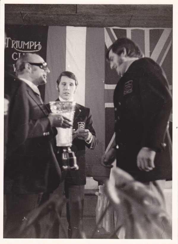 1973 Triumph Club, Jahrswertung Wertungssport, Platz 1
