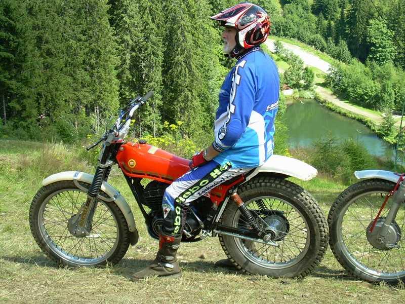 2008 Classic-Trial Euro-Cup Salzstiegl, Montesa