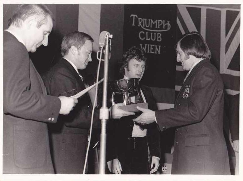 6.12.1974 Triumph Club Jahreswertung