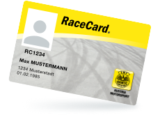 Hier klicken für Infos zu OSK RaceCard