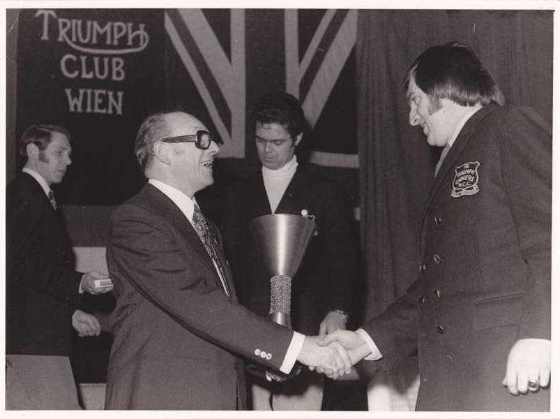 6.12.1974 Triumph Club Jahreswertung Rennsport 5. Platz