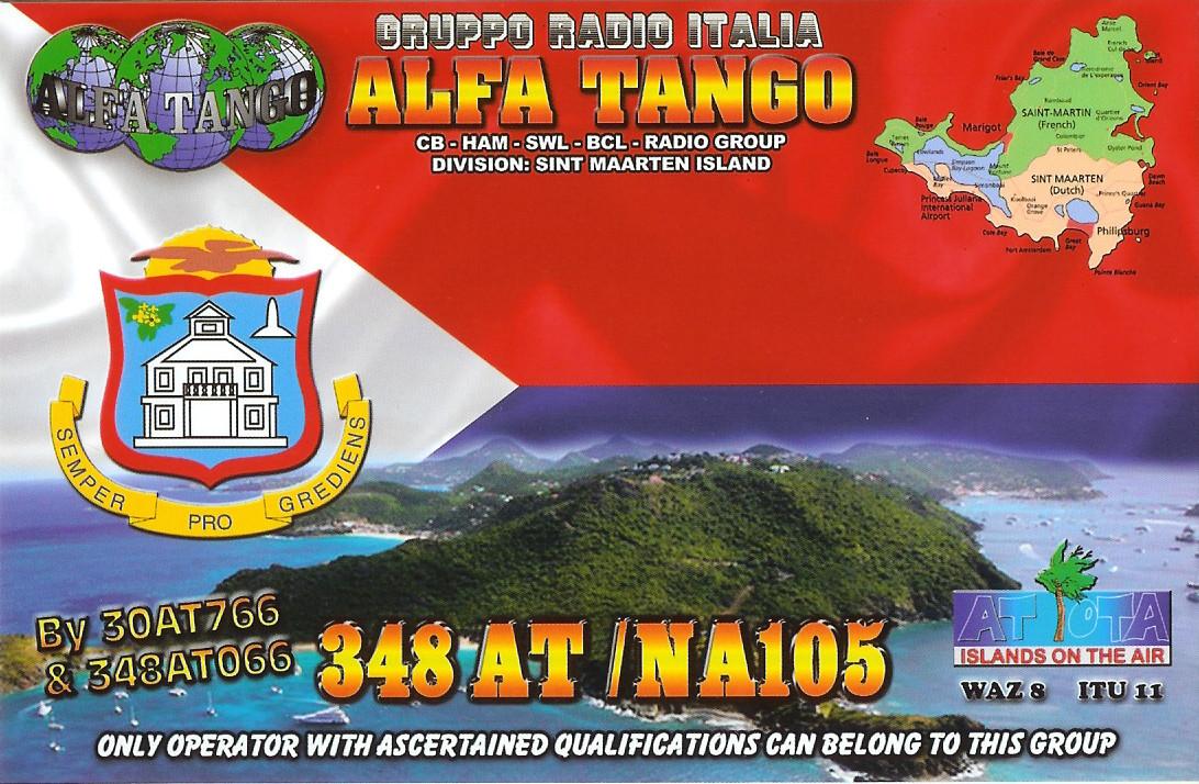 348AT/NA105 SINT MAARTEN ISLAND