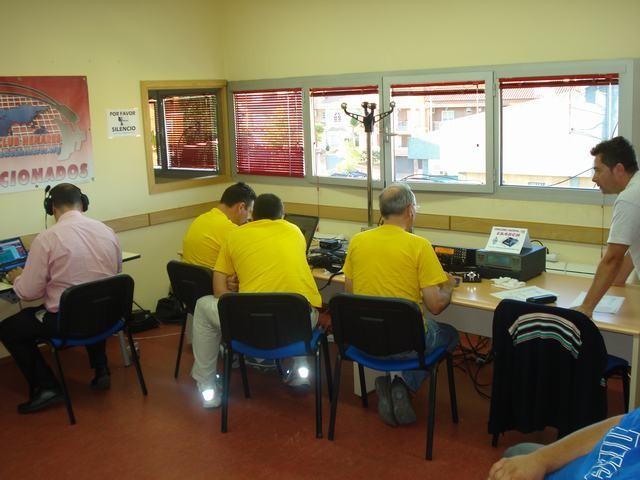 Visita al Radio club Henares EA4RCH