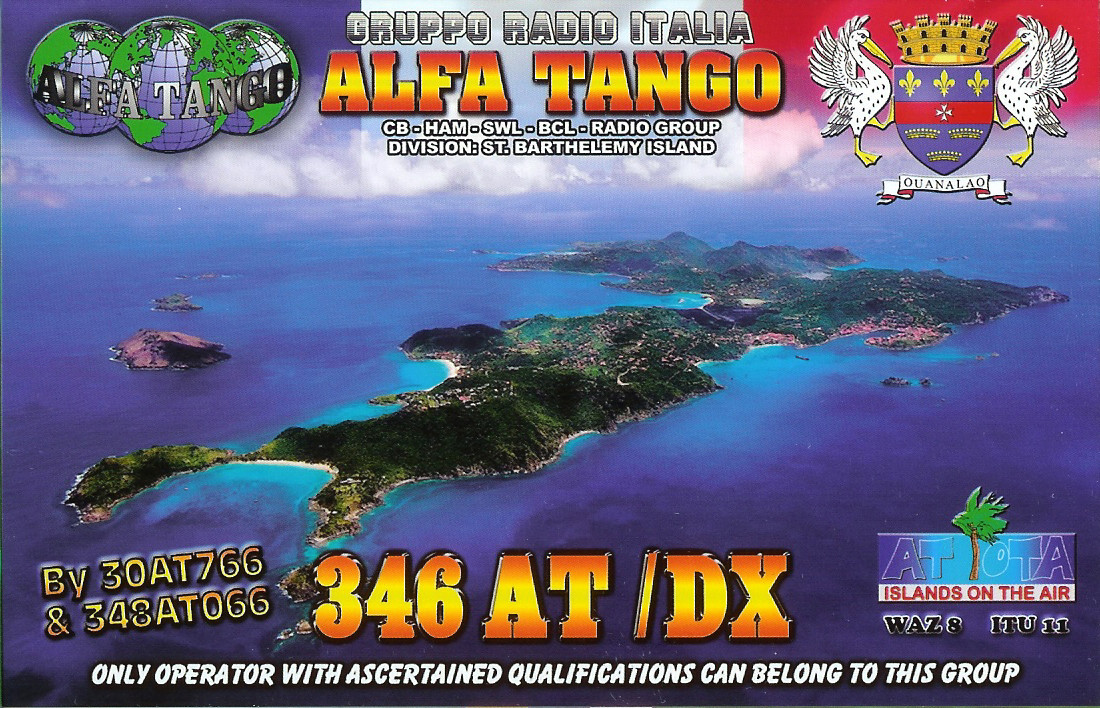 346AT/DX ST. BARTHELEMY ISLAND