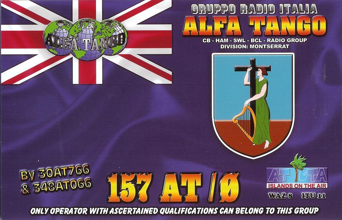 157AT/0 MONTSERRAT ISLAND