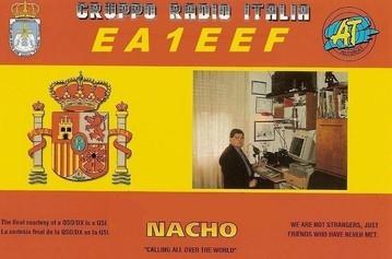 Nacho - EA1EEF