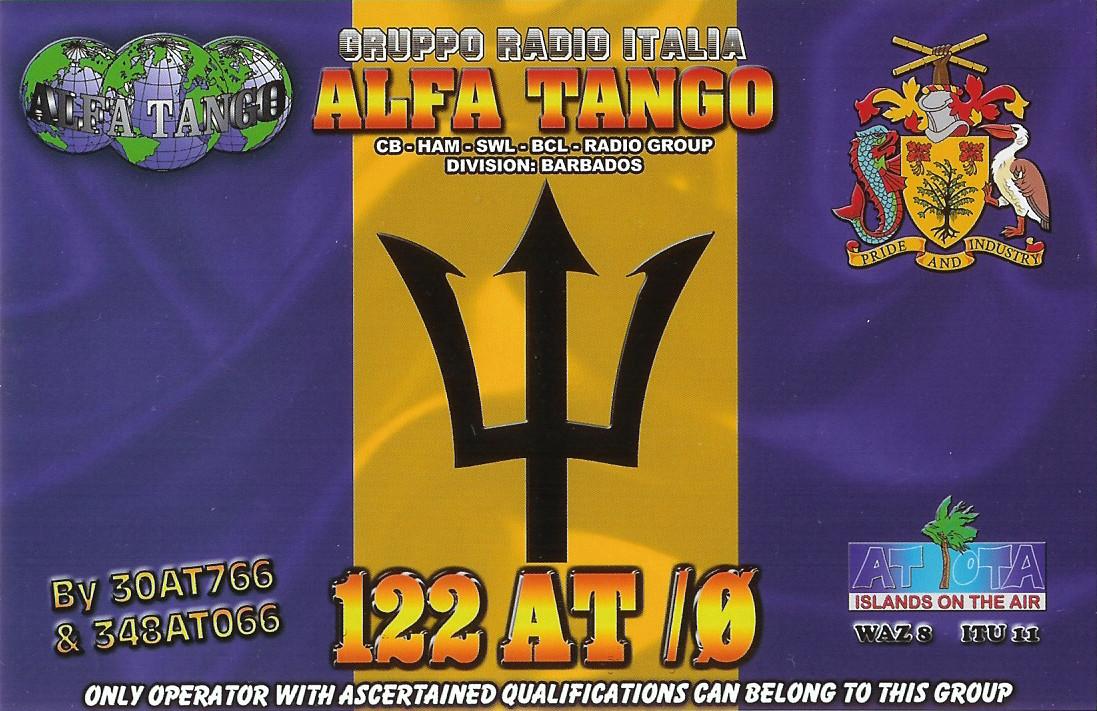 122AT/0 Barbados Isl.