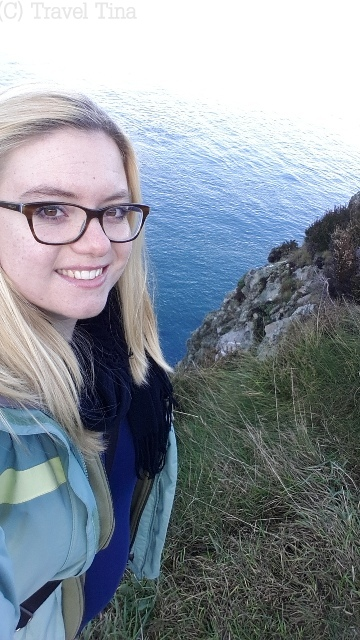 Happy auf dem Howth Cliff Walk.