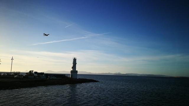 Ein letzter Blick auf die Insel, dann geht es zurück.