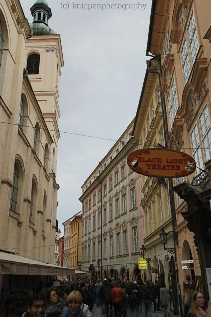 Prag und seine engen Straßen...