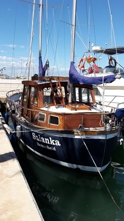 Ob ich damit in die Heimat segeln kann? :-D