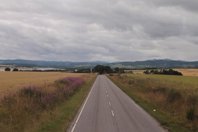 Auf dem Weg ins Nirgendwo nach Muir of Ord.