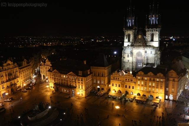 Ausblick vom Rathaus Turm.