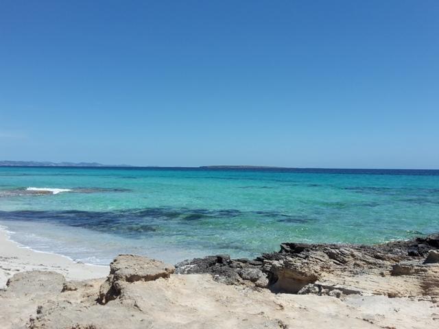 Erster Strandstop: Playa de Llevant.