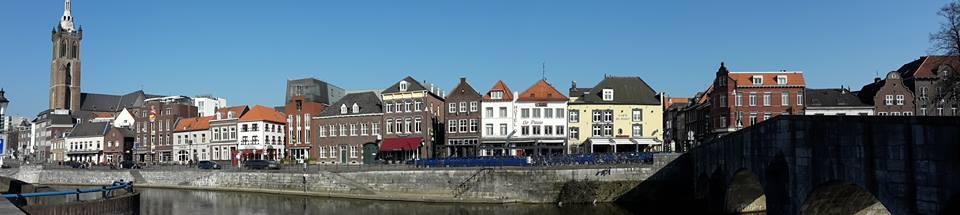 Typisches Hollandflair: Roermond/ Niederlande.