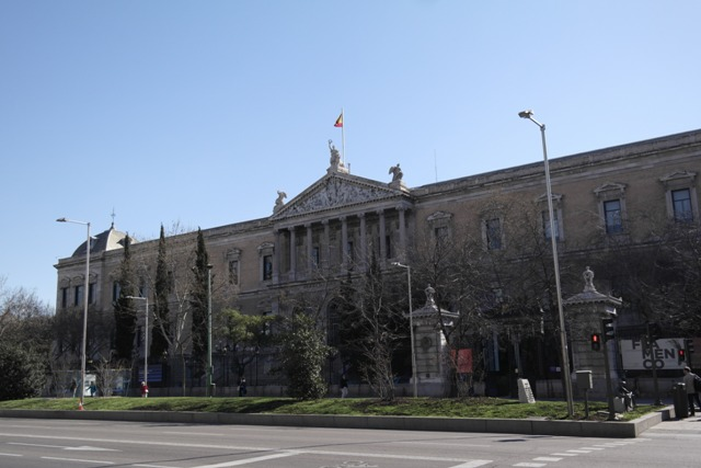 National Bibliothek in Madrid