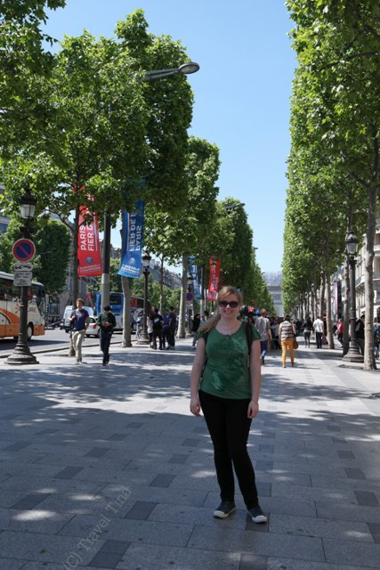 Und noch einmal auf der Champs-Elysee.