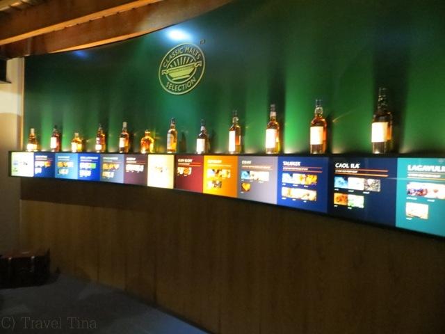 Erst einmal ab in die Distillery Glen Ord.