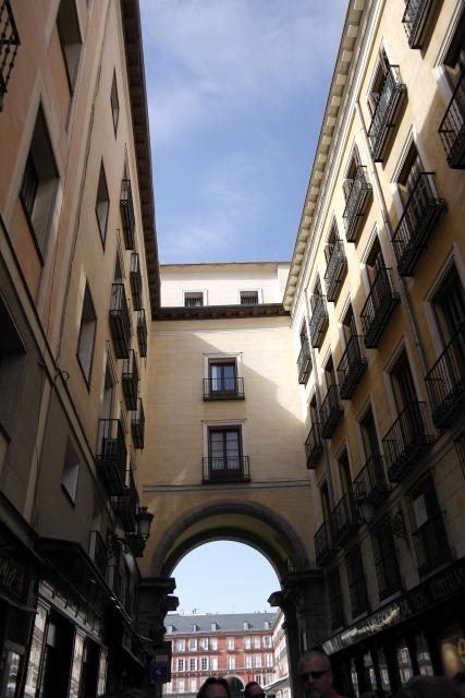 Madrids kleine Sträßchen