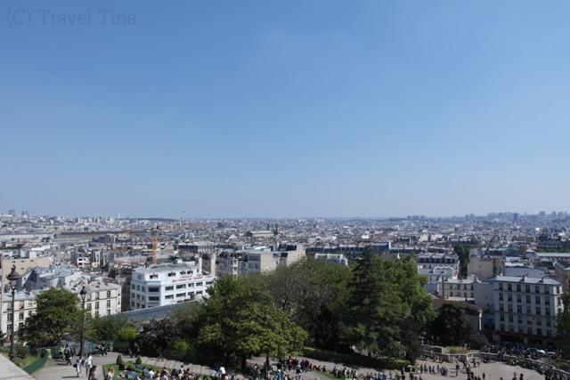 Ausblick von Sacre Coeur.
