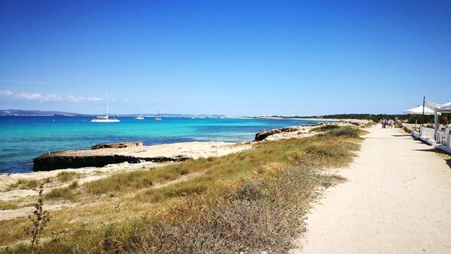 Der erste Kontakt mit Formentera - ich bin sofort verliebt!