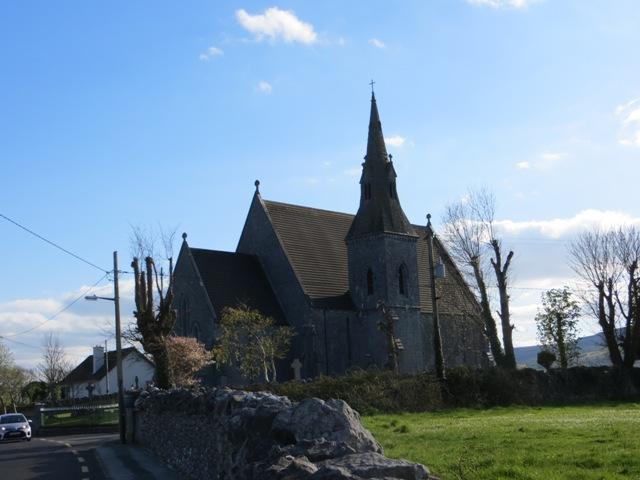 Die Kirche von Ballyvaughan.