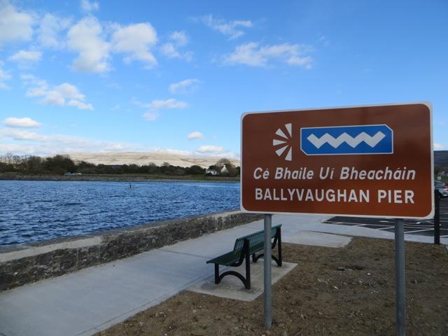 Ballyvaughan Pier.