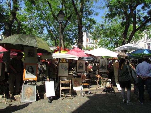 Künstlerviertel Montmatre,
