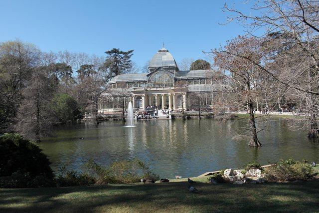 Gladpalast im Park
