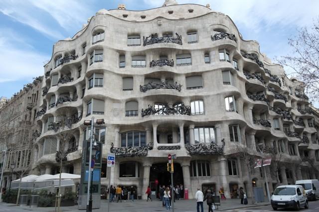 Casa Milà Außenansicht