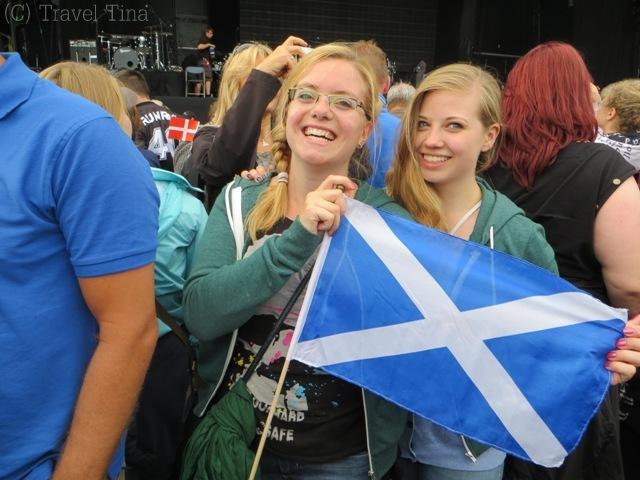 Happy Scotland Girls.