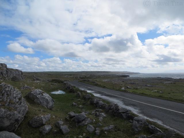 Rückweg von den Cliffs of Moher Richtung Ballyvaughan.