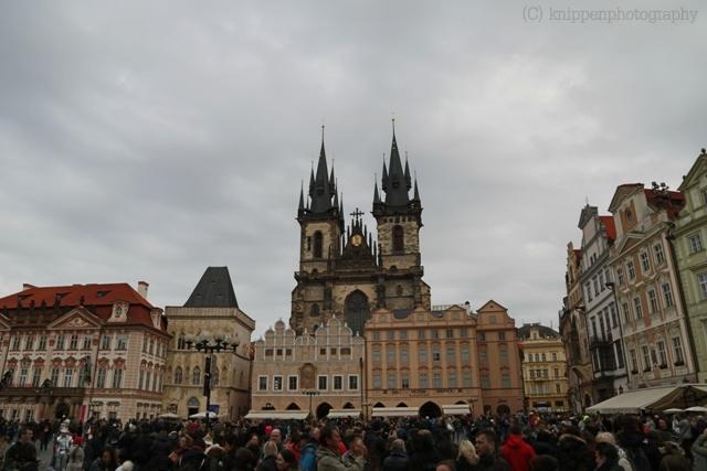 Und auch das ist Prag: voller Touristen.