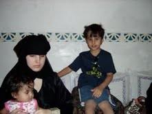 Nathalie, Samir et Sarah - été 2009