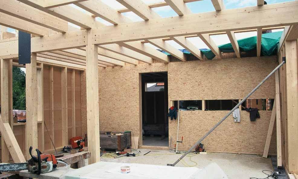 Rahmenbau - Skelettkonstruktion