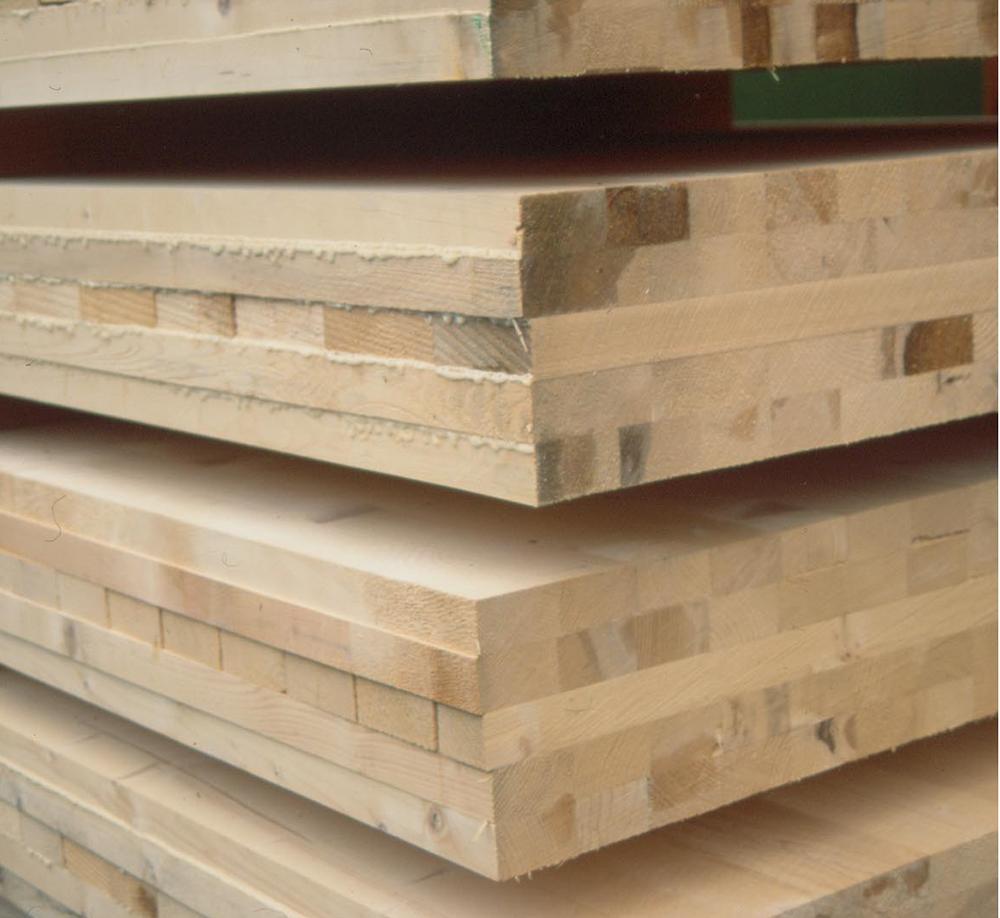 Brettsperrholzelemente