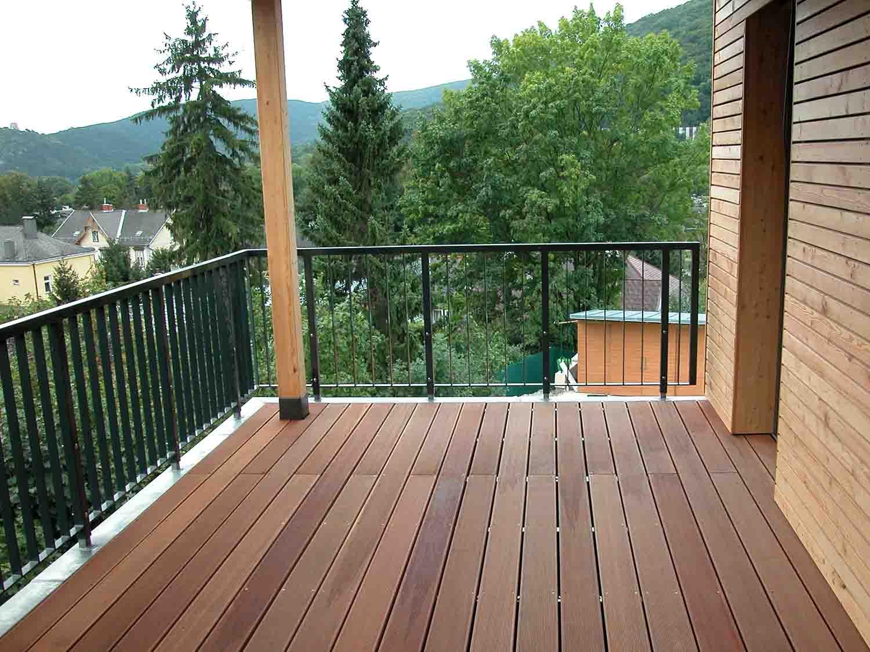 Balkon überdacht