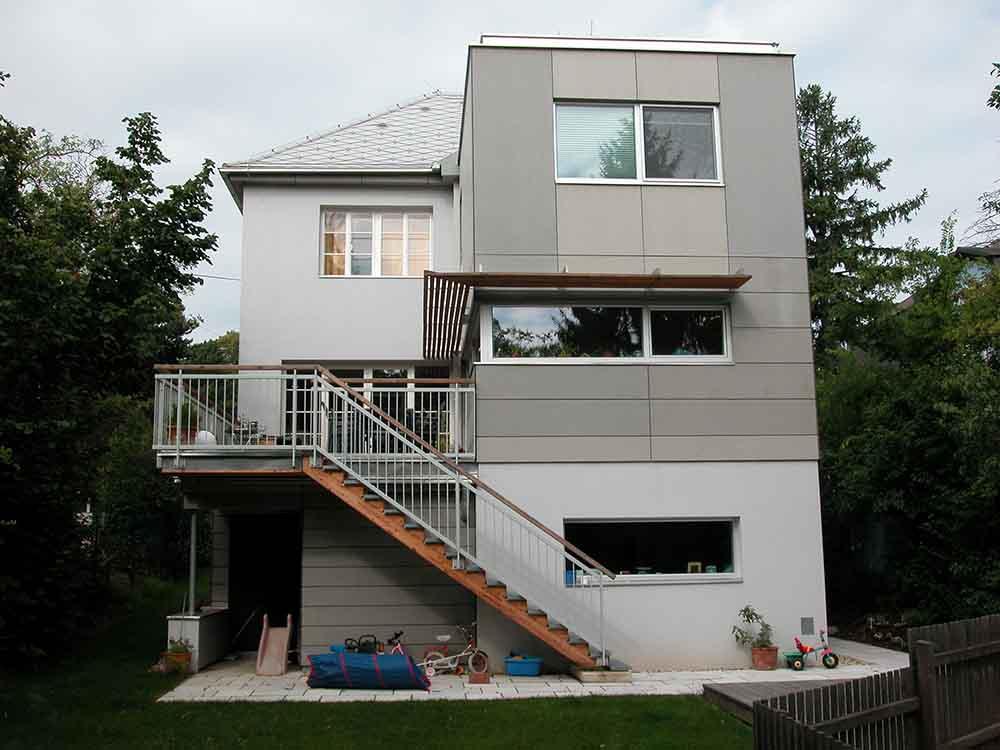 Holzbox zur Wohnraumerweiterung