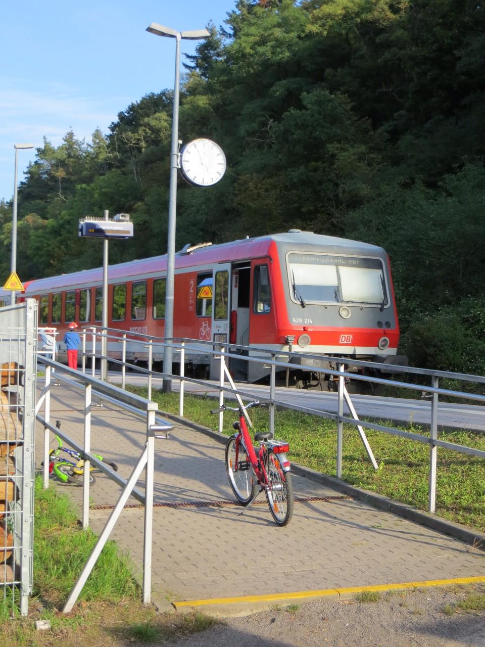 Regionalbahn Haltestelle Ramsen