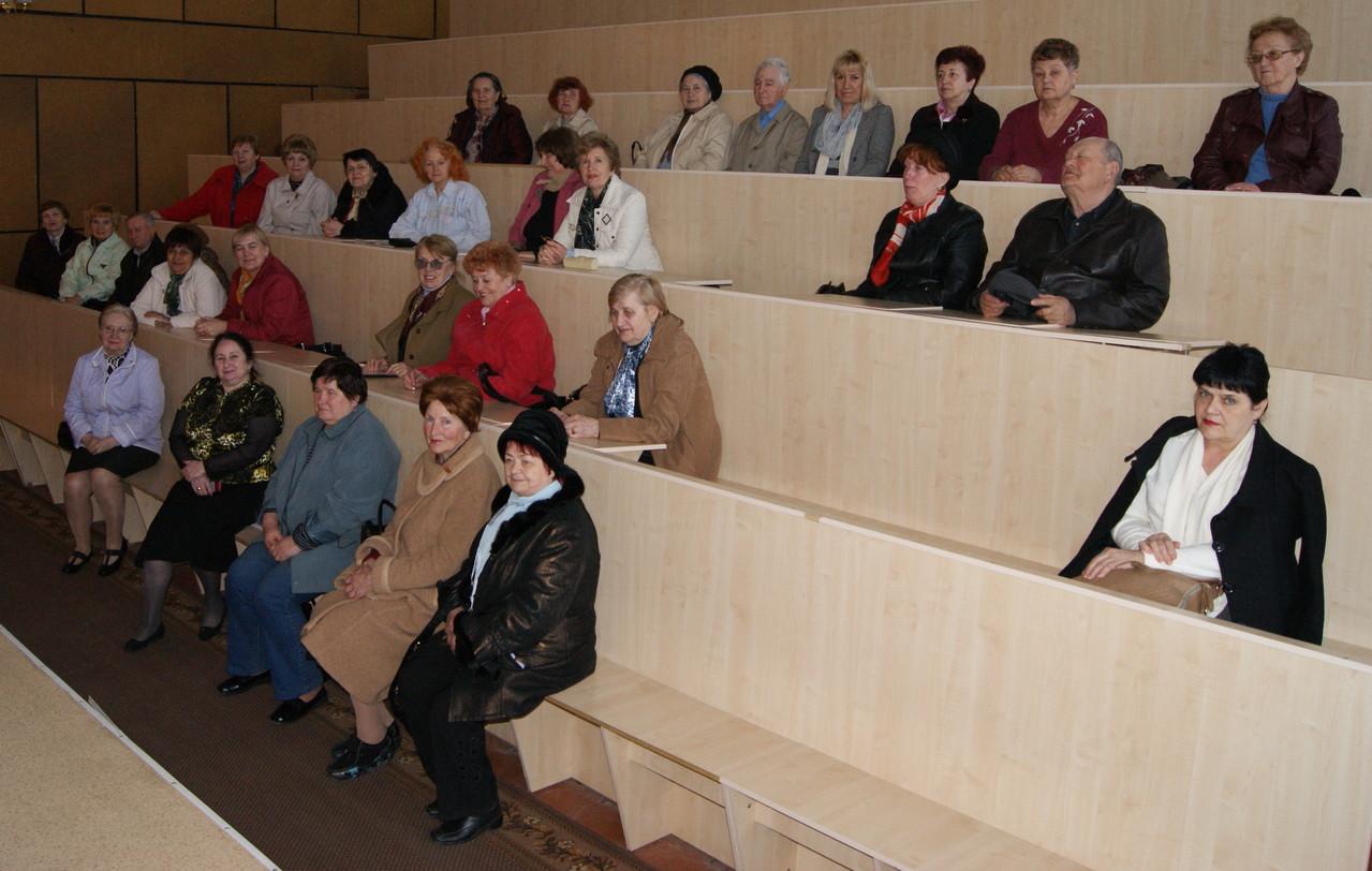 17 апреля 2013 г. - Лекция в Кировоградском институте развития человека ''Украина''