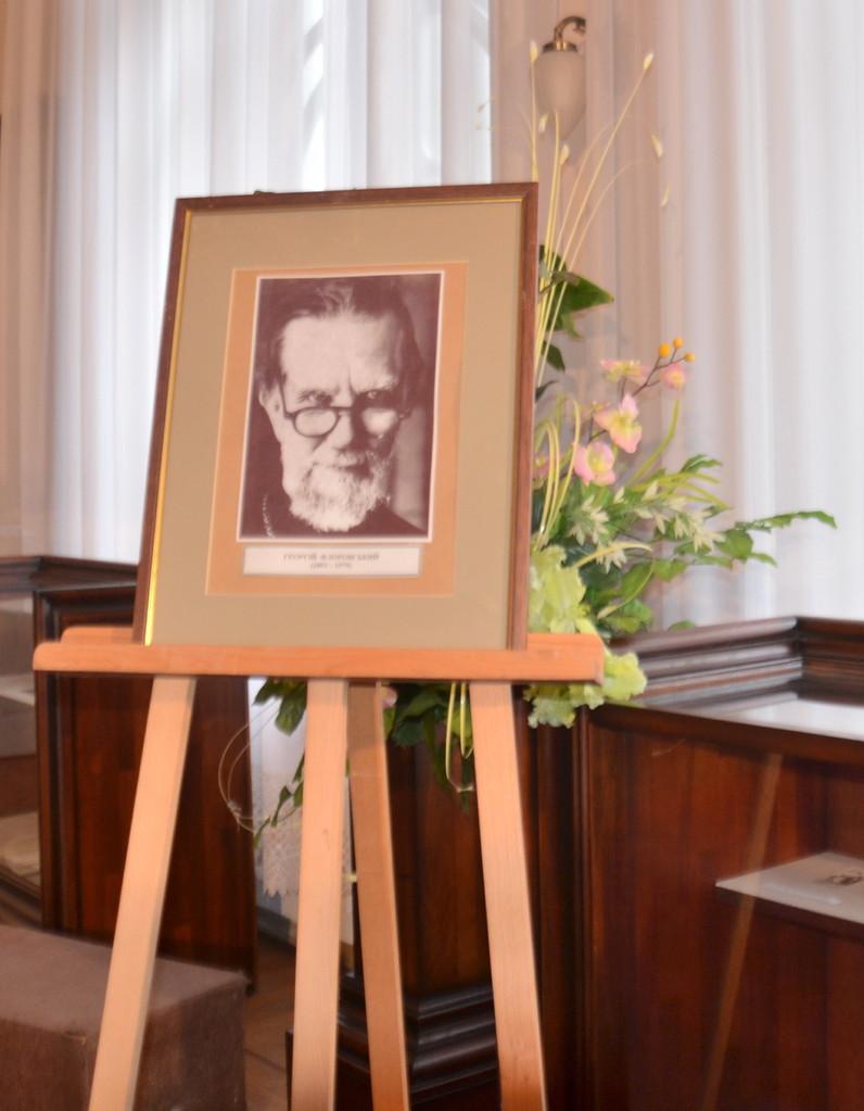 10 сентября 2013 г. - Вечер памяти, посвященный 120-летию со дня рождения прот. Георгия Флоровского