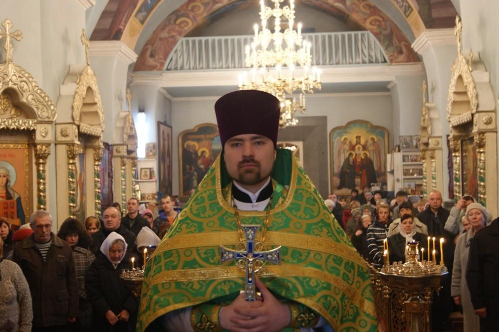 16 марта 2013 г. - Миссионерская Божественная литургия в Спасо-Преображенском соборе г. Кировограда