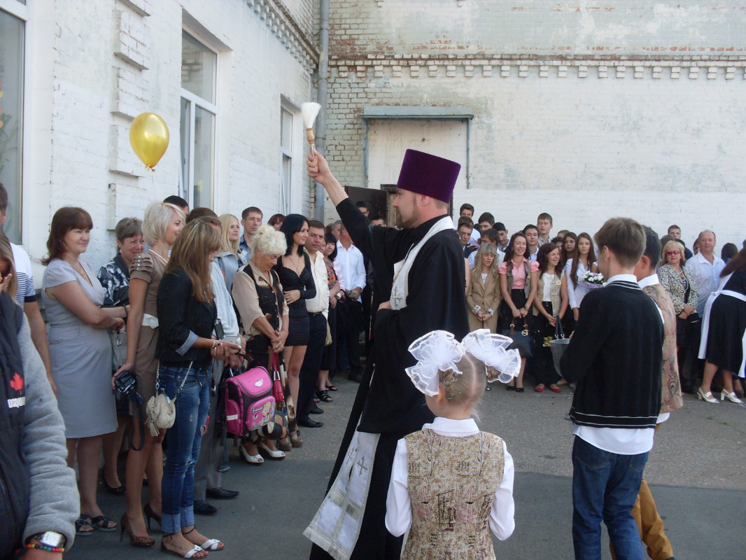 1 сентября 2012 г. - День знаний в Кировоградской школе № 11