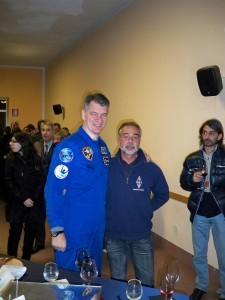 Iw2eko con Paolo Nespoli