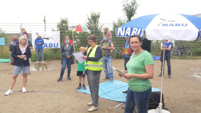 NABU Geesthacht Vorsitzende Heike Kramer, (c) NABU / R. Dörffer