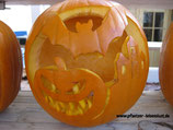 Halloween_Kürbis_Motive_Vorlagen_Fledermaus