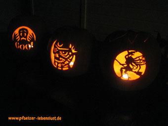 Halloween_Kürbis_Motive_Vorlagen_Hexe_Geist_Zombie