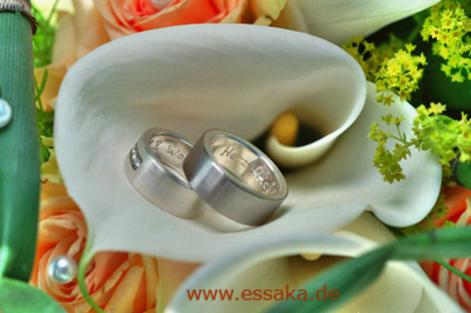 Hochzeitsservice-Königswinkel Segnung der Ringe