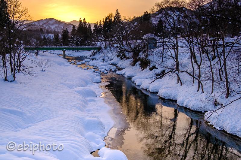 山形の雪景色
